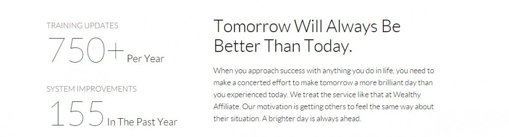 Wealthy Affiliate cares