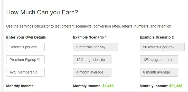How much you can earn